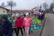 Wiosenna parada z marzanną i gaikiem