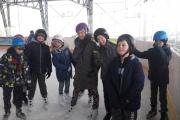 Uczniowie klasy V na lodowisku!